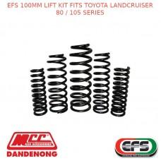 EFS 100MM LIFT KIT FITS TOYOTA LANDCRUISER 80 / 105 SERIES