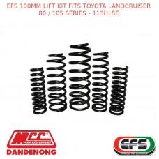 EFS 100MM LIFT KIT FITS TOYOTA LANDCRUISER 80 / 105 SERIES - 113HL5E