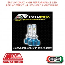 EFS VIVIDMAX HIGH PERFORMANCE LED REPLACEMENT H4 LED HEAD LIGHT BULBS