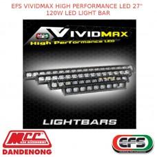 "EFS VIVIDMAX HIGH PERFORMANCE LED 27"" 120W LED LIGHT BAR"