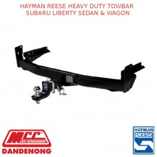 HAYMAN REESE HEAVY DUTY TOWBAR  SUBARU LIBERTY SEDAN & WAGON