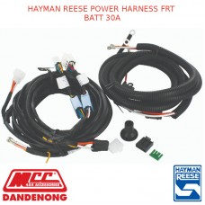 HAYMAN REESE POWER HARNESS FRT BATT 30A
