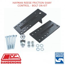 HAYMAN REESE FRICTION SWAY CONTROL- BOLT ON KIT