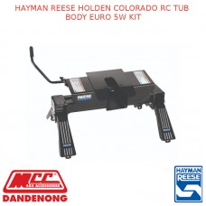HAYMAN REESE HOLDEN COLORADO RC TUB BODY EURO 5W KIT
