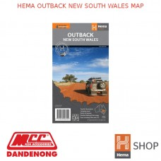 HEMA OUTBACK NEW SOUTH WALES MAP
