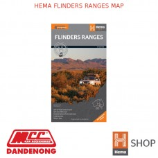 HEMA FLINDERS RANGES MAP