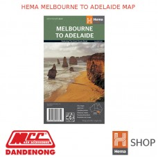 HEMA MELBOURNE TO ADELAIDE MAP