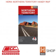 HEMA NORTHERN TERRITORY HANDY MAP