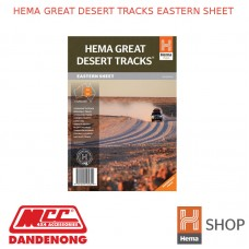 HEMA GREAT DESERT TRACKS EASTERN SHEET