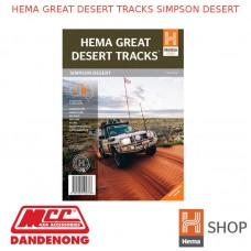 HEMA GREAT DESERT TRACKS SIMPSON DESERT