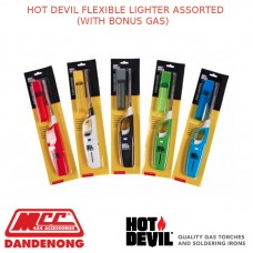 HOT DEVIL FLEXIBLE LIGHTER ASSORTED (WITH BONUS GAS)