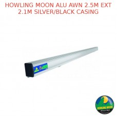HOWLING MOON ALU AWN 2.5M EXT 2.1M SILVER/BLACK CASING