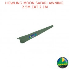 HOWLING MOON SAFARI AWNING 2.5M EXT 2.1M