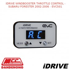 IDRIVE WINDBOOSTER THROTTLE CONTROL - SUBARU FORESTER 2002-2006 - EVC501