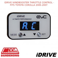 IDRIVE WINDBOOSTER THROTTLE CONTROL - FITS TOYOTA COROLLA 2005-2007