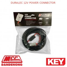 DURALEC 12V POWER CONNECTOR