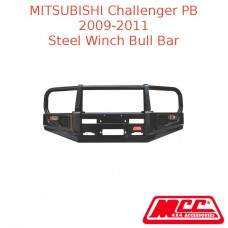 MCC STEEL WINCH BULL BAR SUIT MITSUBISHI CHALLENGER PB