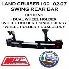 MCC REAR SWING BAR FITS TOYOTA LAND CRUISER 105 SERIES 1998-02  022-02 ADR 4X4