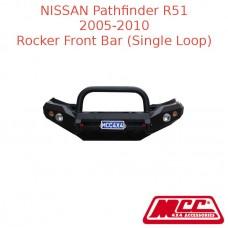 MCC ROCKER FRONT BAR (SINGLE LOOP) SUIT NISSAN PATHFINDER R51