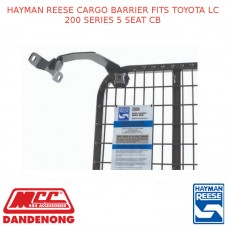 HAYMAN REESE CARGO BARRIER FITS TOYOTA LC 200 SERIES 5 SEAT CB