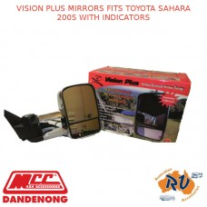 VISION PLUS MIRRORS FITS TOYOTA SAHARA 200S WITH INDICATORS