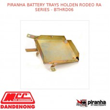 PIRANHA BATTERY TRAYS FITS HOLDEN RODEO RA SERIES - BTHRD06