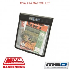 MSA 4X4 MAP WALLET