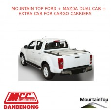 FORD + MAZDA DUAL CAB + EXTRA CAB CARGO CARRIERS – ACCESSORY FOR MOUNTAIN TOP ROLL