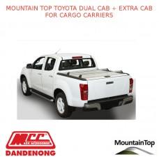 TOYOTA DUAL CAB + EXTRA CAB CARGO CARRIERS – ACCESSORY FOR MOUNTAIN TOP ROLL