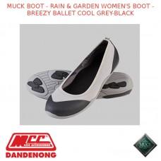 MUCK BOOT - RAIN & GARDEN WOMEN'S BOOT - BREEZY BALLET COOL GREY-BLACK