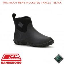 MUCKBOOT MEN'S MUCKSTER II ANKLE - BLACK