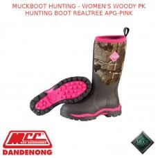 MUCKBOOT HUNTING - WOMEN'S WOODY PK HUNTING BOOT REALTREE APG-PINK