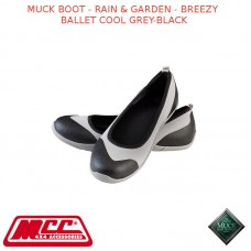 MUCK BOOT - RAIN & GARDEN WOMEN'S BOOT - BREEZY BALLET COOL GREY-BLACK