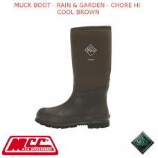 MUCK BOOT - RAIN & GARDEN MEN'S BOOT - CHORE HI COOL BROWN