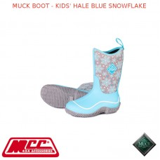 MUCK BOOT - KIDS' HALE BLUE SNOWFLAKE