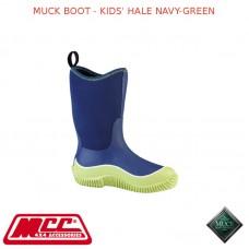 MUCK BOOT - KIDS' HALE NAVY-GREEN