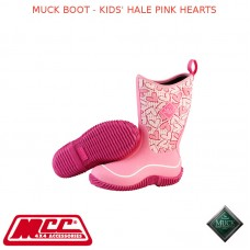 MUCK BOOT - KIDS' HALE PINK HEARTS