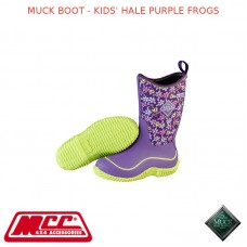 MUCK BOOT - KIDS' HALE PURPLE FROGS