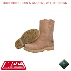 MUCK BOOT - RAIN & GARDEN MEN'S BOOT - WELLIE BROWN