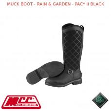 MUCK BOOT - RAIN & GARDEN WOMEN'S BOOT - PACY II BLACK
