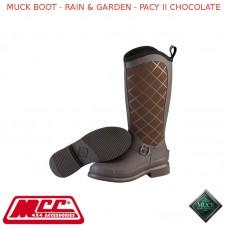 MUCK BOOT - RAIN & GARDEN WOMEN'S BOOT - PACY II CHOCOLATE