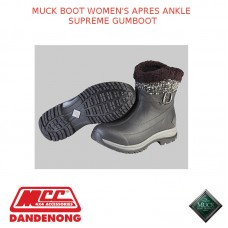 MUCK BOOT WOMEN'S APRES ANKLE SUPREME GUMBOOT