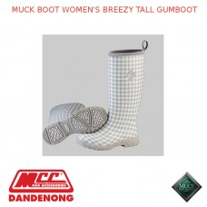 MUCK BOOT WOMEN'S BREEZY TALL GUMBOOT -  SBZT-1GHM