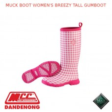 MUCK BOOT WOMEN'S BREEZY TALL GUMBOOT -  SBZT-4GHM