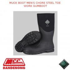 MUCK BOOT MEN'S CHORE STEEL TOE WORK GUMBOOT