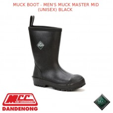 MUCKBOOT MEN'S MUCKMASTER MID (UNISEX) BLACK - SCRM-000