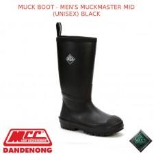 MUCKBOOT MEN'S MUCKMASTER MID (UNISEX) BLACK - SCRT-000