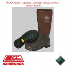 MUCKBOOT RAIN & GARDEN MEN'S BOOT - CHORE COOL STEEL TOE BROWN