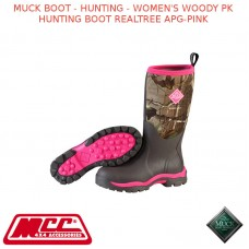 MUCK BOOT - HUNTING - WOMEN'S WOODY PK HUNTING BOOT REALTREE APG-PINK