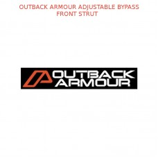 OUTBACK ARMOUR ADJUSTABLE BYPASS - FRONT STRUT  - OASU0850007-ADJ